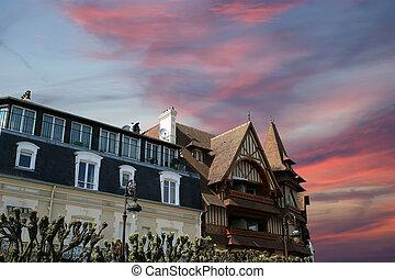 Deauville, Basse-Normandie region in northwestern France...