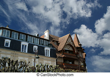 Deauville, Basse-Normandie region in northwestern France...