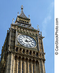 Big Ben - The houses of parliament in London, it contains...