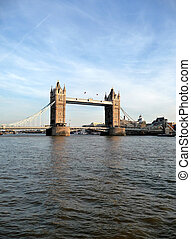 Tower Bridge Scene 15 - A view of Tower Bridge and the River...