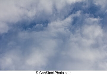 background of the sky with clouds