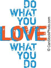 que, tu, Amor, vetorial