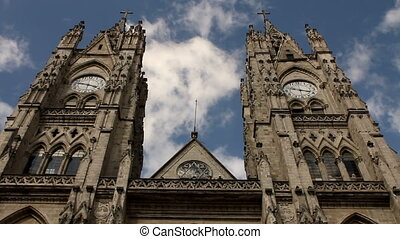 Basilica of the national vow, Quito - Basilica of the...