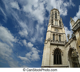 The, Church, Saint-Germain-l'Auxerrois, Paris, France