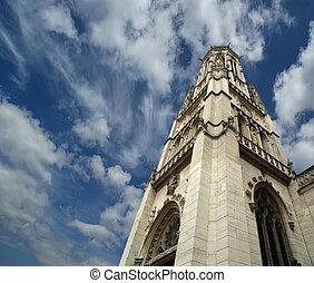 The, Church, Saint-Germain-l'Auxerrois, Paris, France