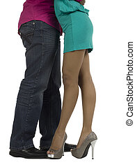 cropped image of sweet couple dancing - Cropped image of...