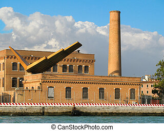 Power station - Art Deco Power Station in Venice Italy