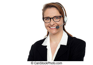 How can I help you today - Pretty customer support executive...
