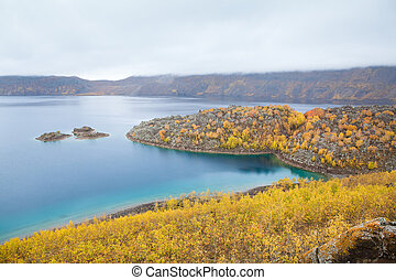 Lake Nemrut Nemrut Gouml;luuml; in caldera of volcano - Lake...