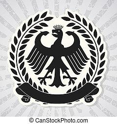 Heraldic coat of arms - The vector image Heraldic coat of...