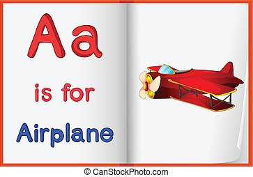 Alphabet worksheet for the letter A