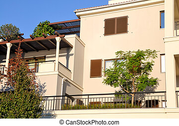 Mediterranean apartments - New modern building in...
