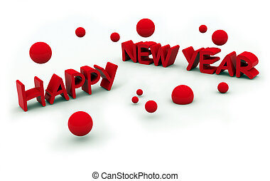 happy new year\\\'s eve text on white background