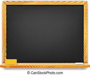 School blackboard background