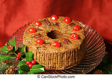 Delicious Holiday Fruitcake