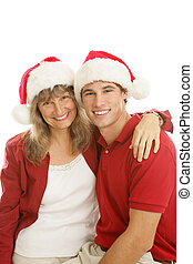 Mother Son Christmas