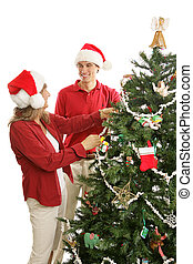 College Boy Home for the Holidays - Young adult man home for...