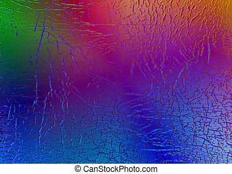 Multi coloured abstract pattern background