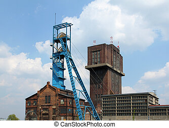 Coal mine shaft