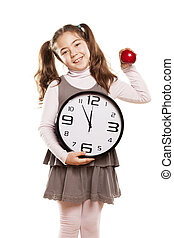 it is time to start eating healthy - little girl shows that...