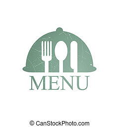 Menu Template - Vector Illustration of a Menu Template