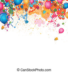 Celebration card - Vector Illustration of a Festive...