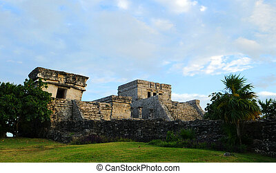 Mayan Temple - The Castle in Tulum