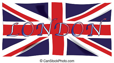LONDON - The British Union Flag, or Union Jack when used on...