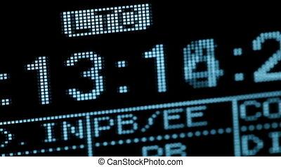 Running timecode.