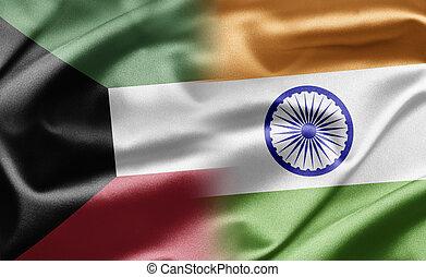 Kuwait and India