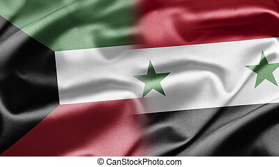 Kuwait and Syria