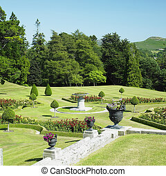 Powerscourt Gardens, County Wicklow, Ireland