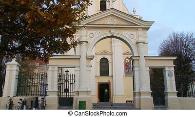 Church, tilt up - Sremska Mitrovica - Church, tilt up