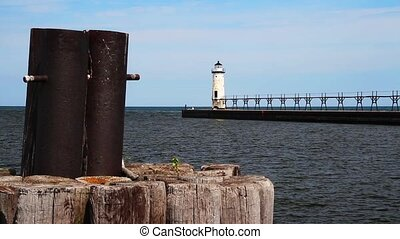 Manistee Lighthouse Loop - Loop features the lighthouse and...