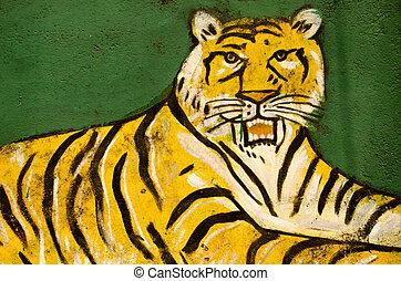 Muslim Tiger, Hyderabad, India