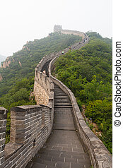 Great Wall Of China - Tourist-spot at Great Wall of China...