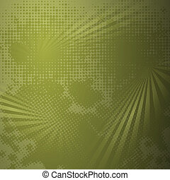 Grunge halftone dark background