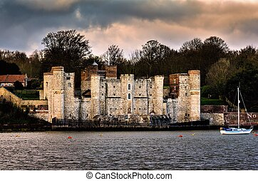 Upnor Castle - Upnor castle on the river Medway in Kent was...