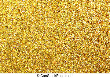 glittering golden - Detailed texture of glittering golden...
