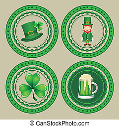 Saint Patrick's Day - illustration of Saint Patrick's Day,...
