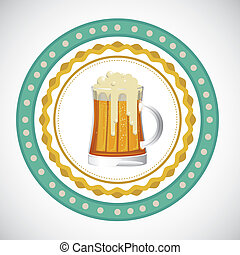 beer label - illustration of labels for the beer, vector...