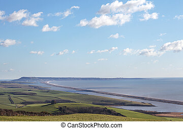 The isle of portland - Chesil beach in dorset and portland...