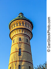 famous watertower in Biebrich, Wiesbaden - famous Watertower...