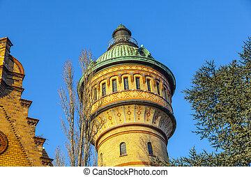 famous watertower in Biebrich, Wiesbaden - famous Watertower...