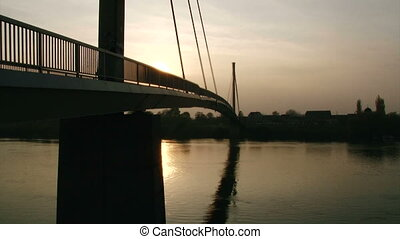 Bridge, dusk - Long Bridge, dusk