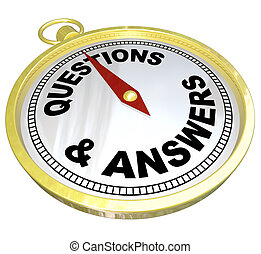 Compass - Questions and Answers Help Assistance - A gold...