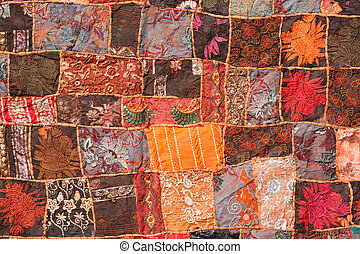 patchwork, indianas, Tapete