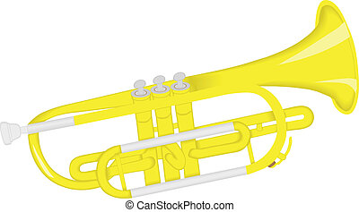 cornet - vector illustration of a cornet