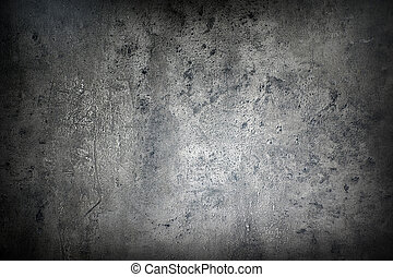 Grunge background - Close up of rough gray textured grunge...