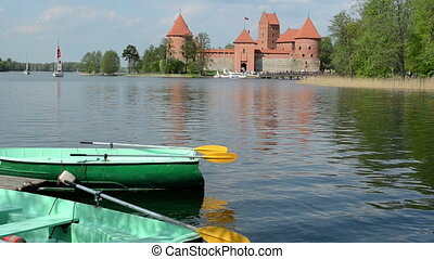 trakai boat rent yacht - Trakai castle yacht sail and boat...